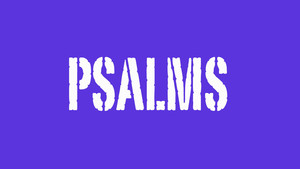 Psalms, the Disciple's Prayer Book
