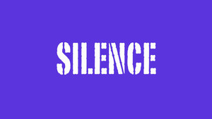 Silence, listening for God's Voice