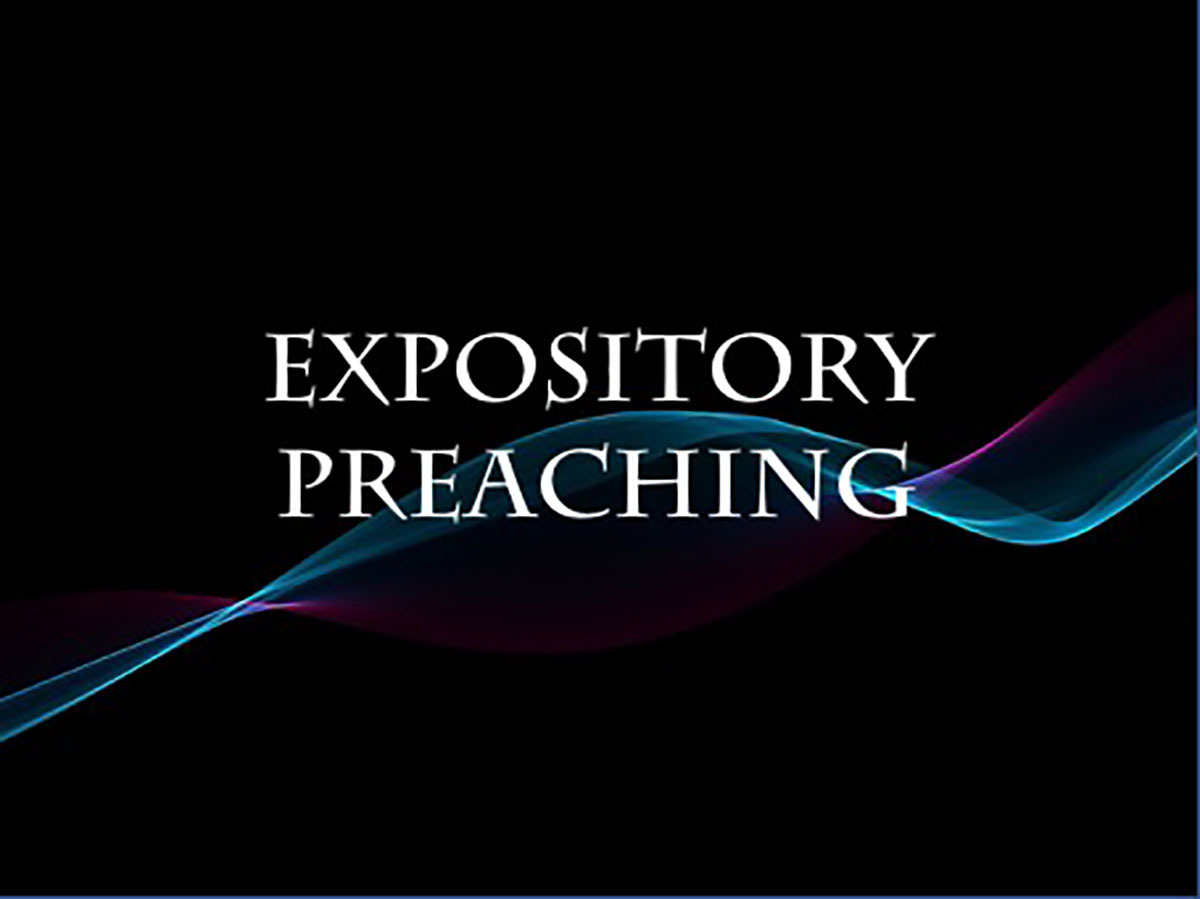 Four Kinds of Expositional Preaching  by Ed Stetzer