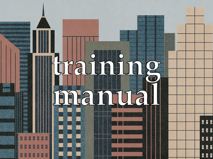 Training Manuals