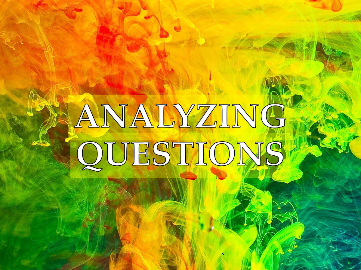 Questions to help analyze your small group
