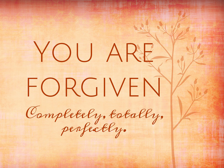 Enjoy Forgiveness