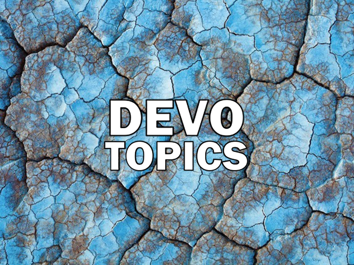 10 Devo Topics for Men's Groups