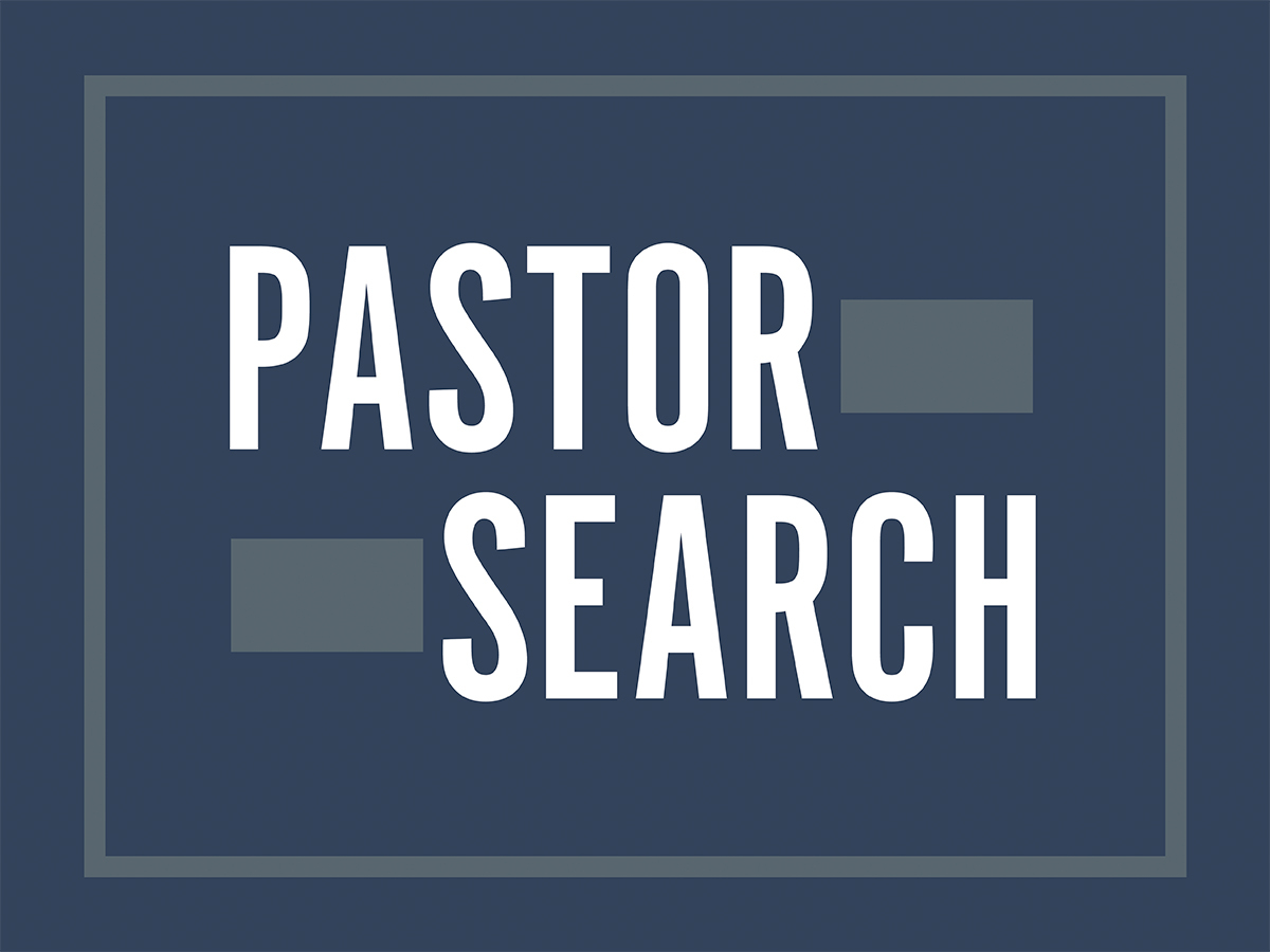 Pastoral Search Committee Workbook