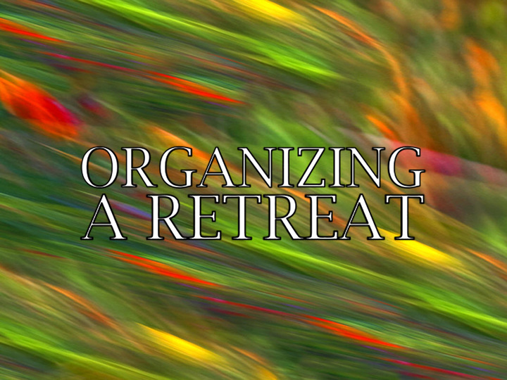 Organizing a Men's Retreat