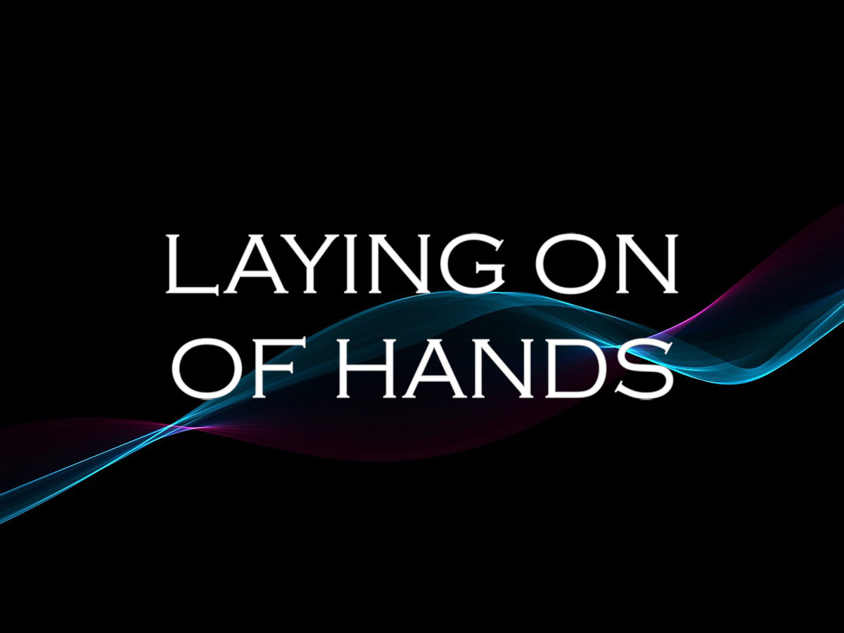 Ordination and the Laying on of Hands