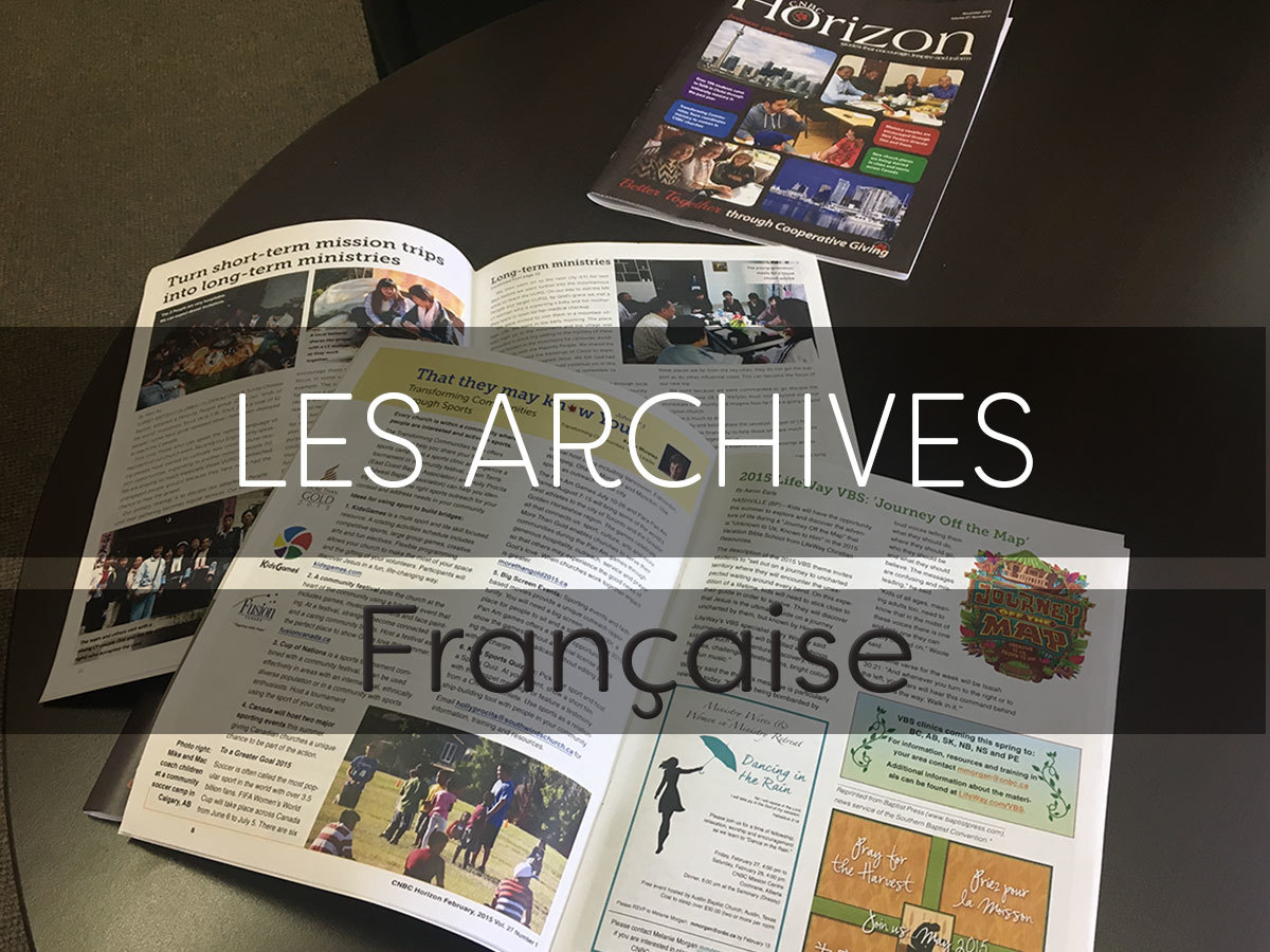 Les Archives Horizon