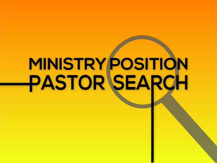 Pastor Search: First Baptist Church