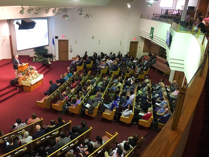 Edmonton Churches Worship Together on Good Friday