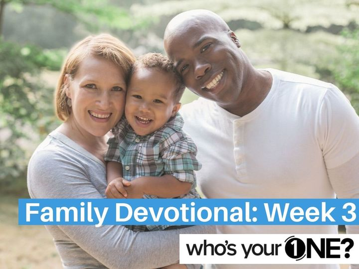 WYO? Family Devo: Week 4, The Royal Official