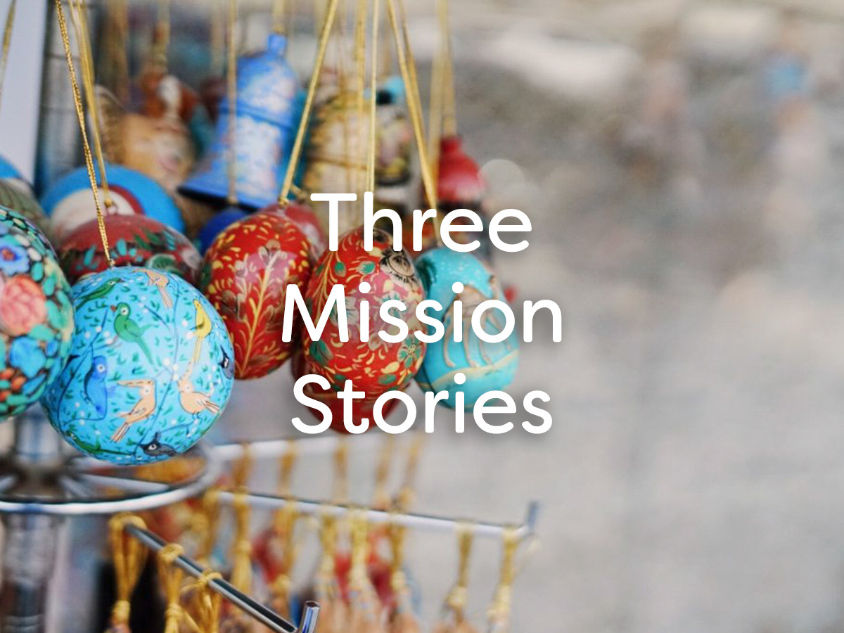 Three Mission Stories
