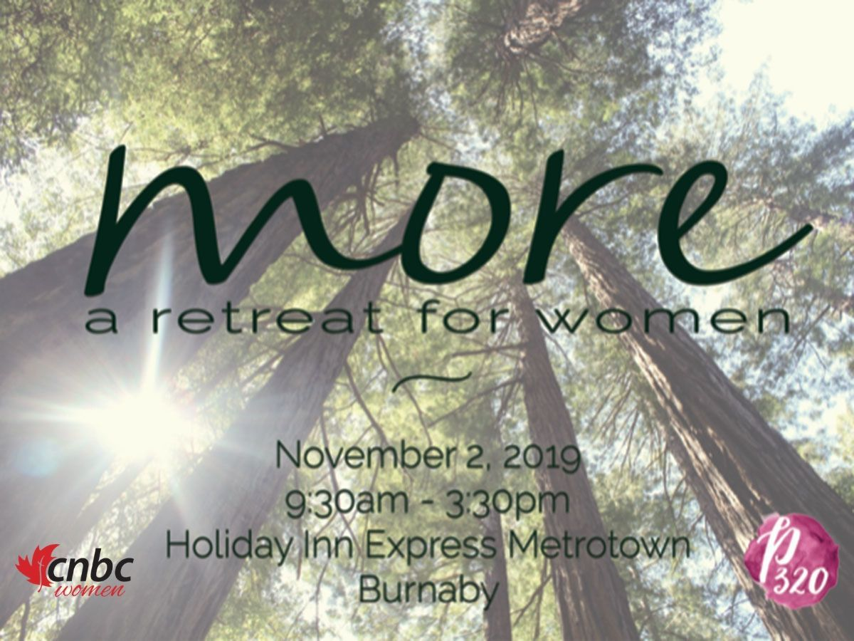 'MORE' Women's Conference in Burnaby, BC