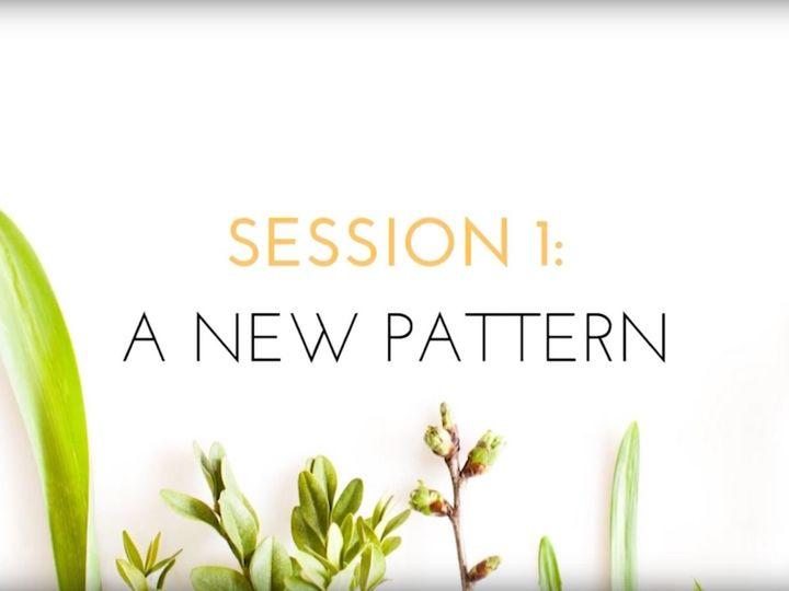 VIDEO: Session 1, A New Pattern