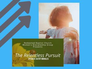 VIDEO: The Relentless Pursuit, Session 1